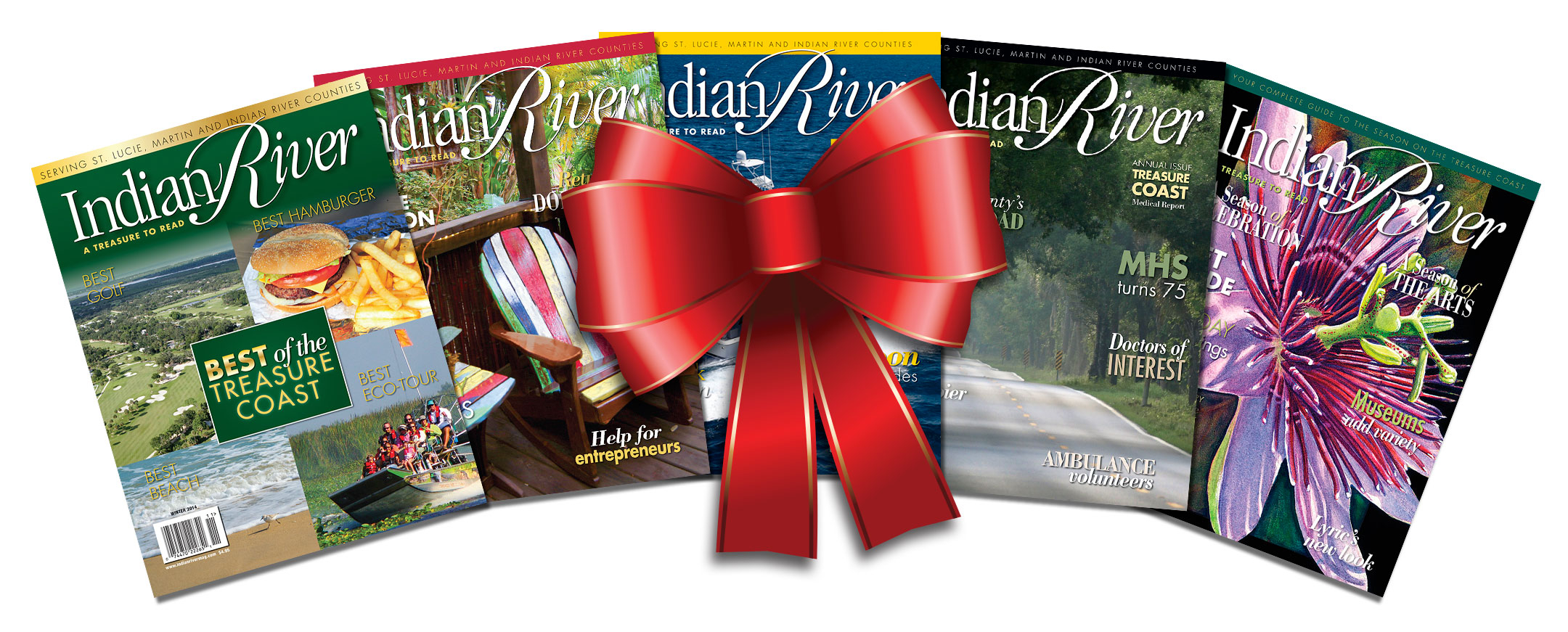 ONE YEAR GIFT SUBSCRIPTION TO INDIAN RIVER MAGAZINE