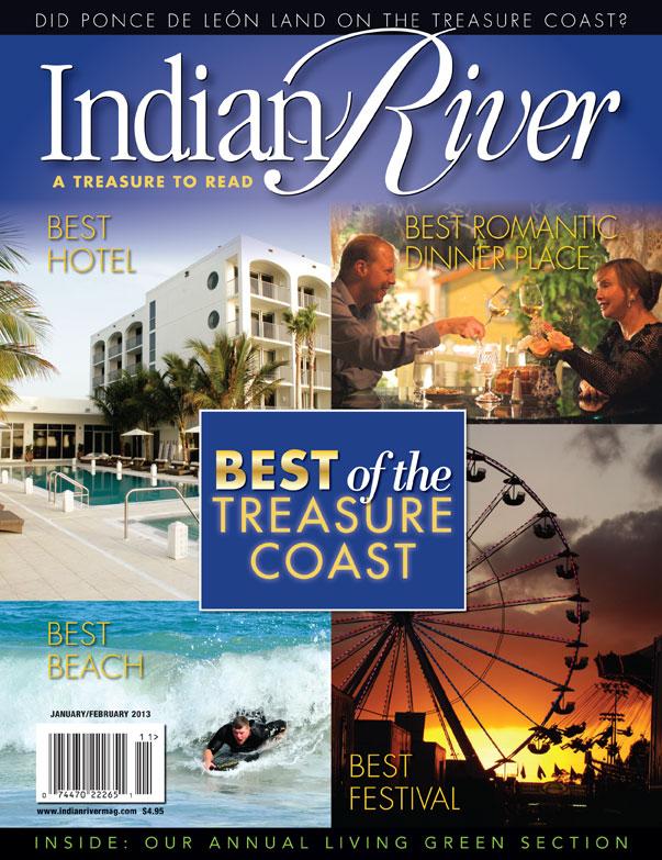 January 2013 Indian River Magazine Best of the Treasure Coast