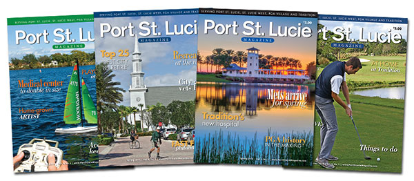 ONE YEAR SUBSCRIPTION TO PORT ST. LUCIE MAGAZINE